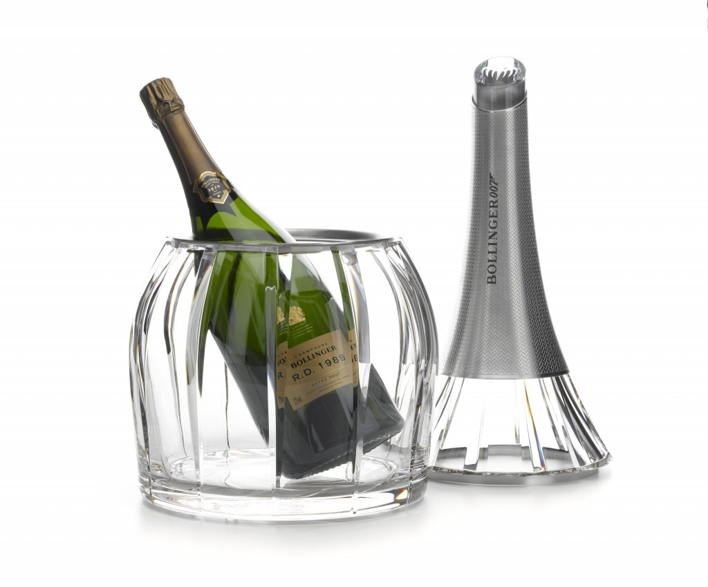 Bollinger Spectre Crystal Set open