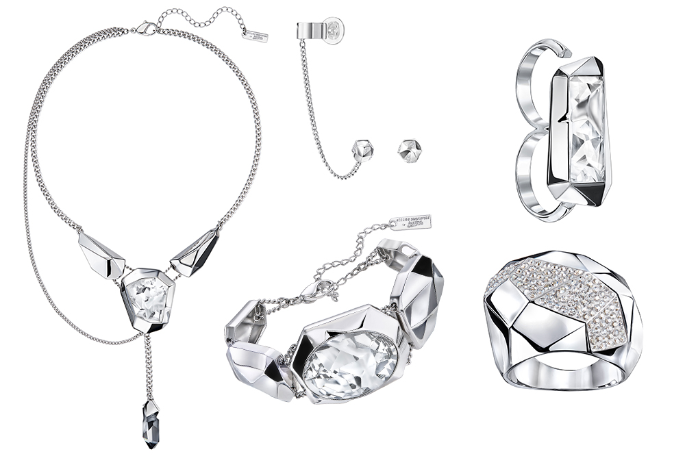 ...  Kaputt  cut Swarovski crystals – an unconventional and innovative cut  with irregular forms that made its first appearance in Jean Paul s  Spring Summer ... 3d71a0656